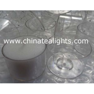 polycarbonate tealight cups for tealight candle