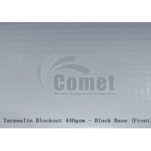 Tarpaulin Blockout (Black base) ±0.380 (440gsm)