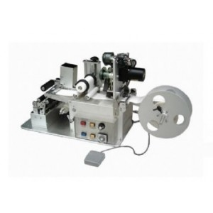 Semi Auto Round Labelling Machine