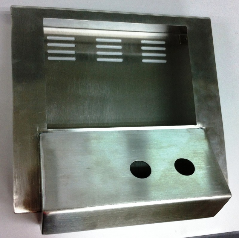 STAINLESS STEEL DISPLAY HOUSING