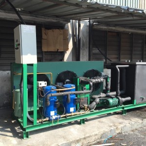 Air Cooled Chiller With S/S Tank 20HP