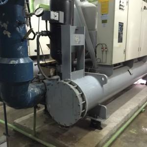 Dunham Bush Water Cooled Chiller Condenser Service
