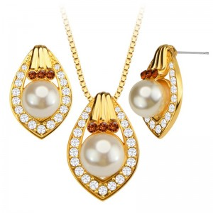 WATER DROP SIMULATION PEARL CRYSTAL (GOLD)