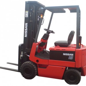 Nissan 4 Wheeler Battery Forklift
