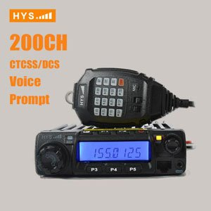 Single Band Mobile Radio Transceiver, VHF UHF TC-135