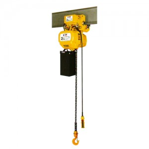 Electric Chain Hoist c/w Electric Trolley-Single Speed