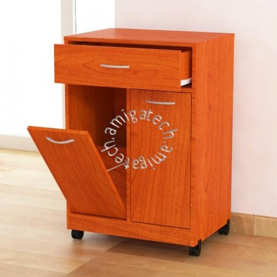 Friendly Dustbin (Kitchen Cabinet) KC 2400 Cherry