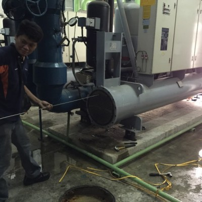 Water Cooled Chiller Condenser Tubing Service
