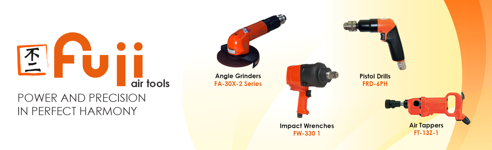 Fuji Air Tools | Pulse Wrenches | Angle Grinders | Air Saws | Needle Scalers