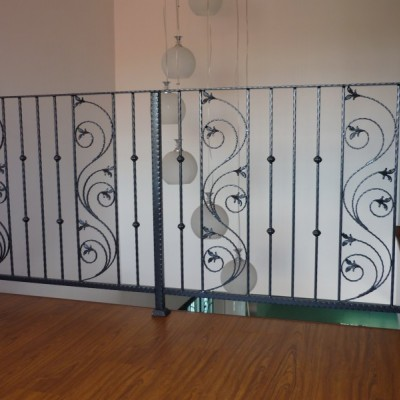 Wrought Iron Staircase Handrail