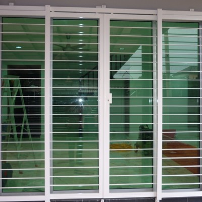 Mild Steel Sliding Door Grille