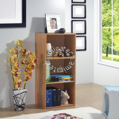 3 Tiers Utility/Book Shelf US 3141 Beech