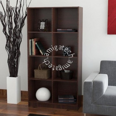 2 x 4Cubes Utility/Book Shelf US 3131 Walnut
