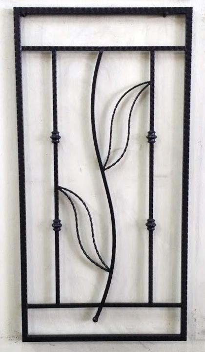 Wrought Iron Window - 11