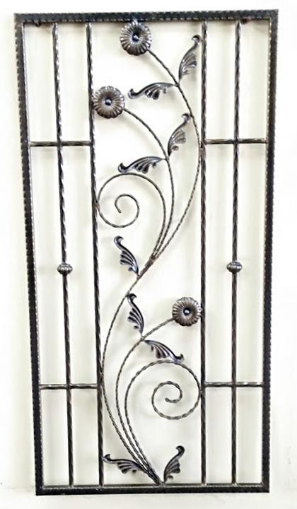 Wrought Iron Window - 07