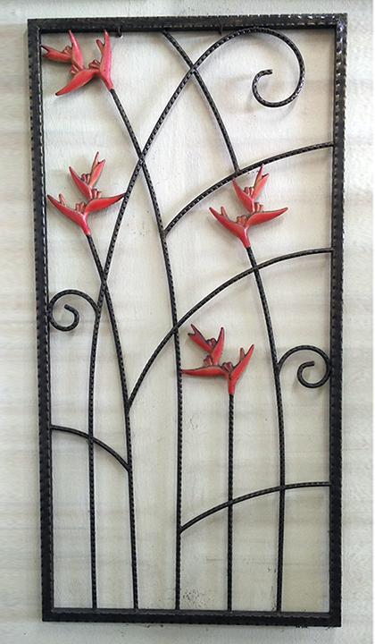 Wrought Iron Window - 15