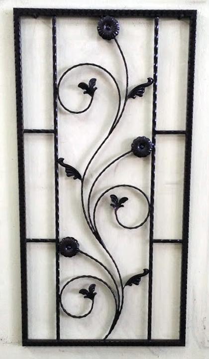 Wrought Iron Window - 06