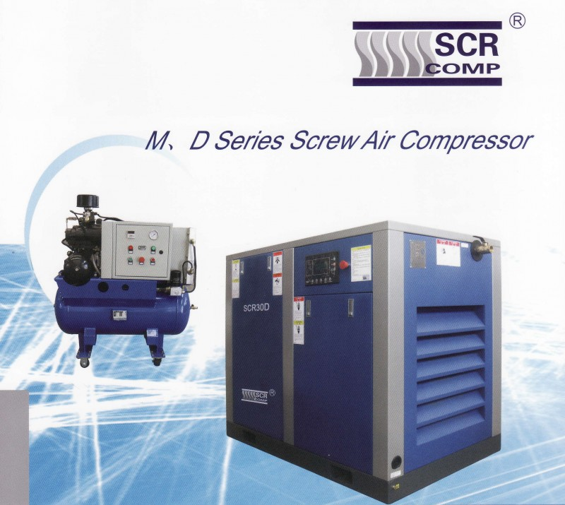 SCR Comp M & D Series Screw Air Compressor