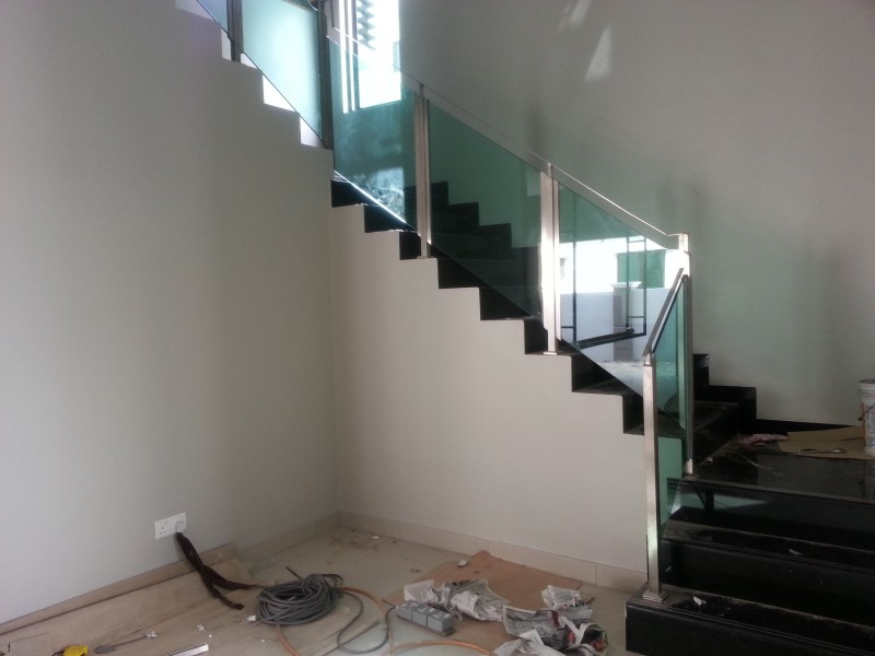 Stainless Steel Staircase Handrail - 02