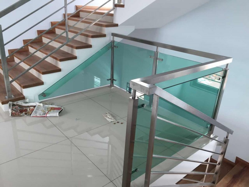 Stainless Steel Staircase Handrail - 06