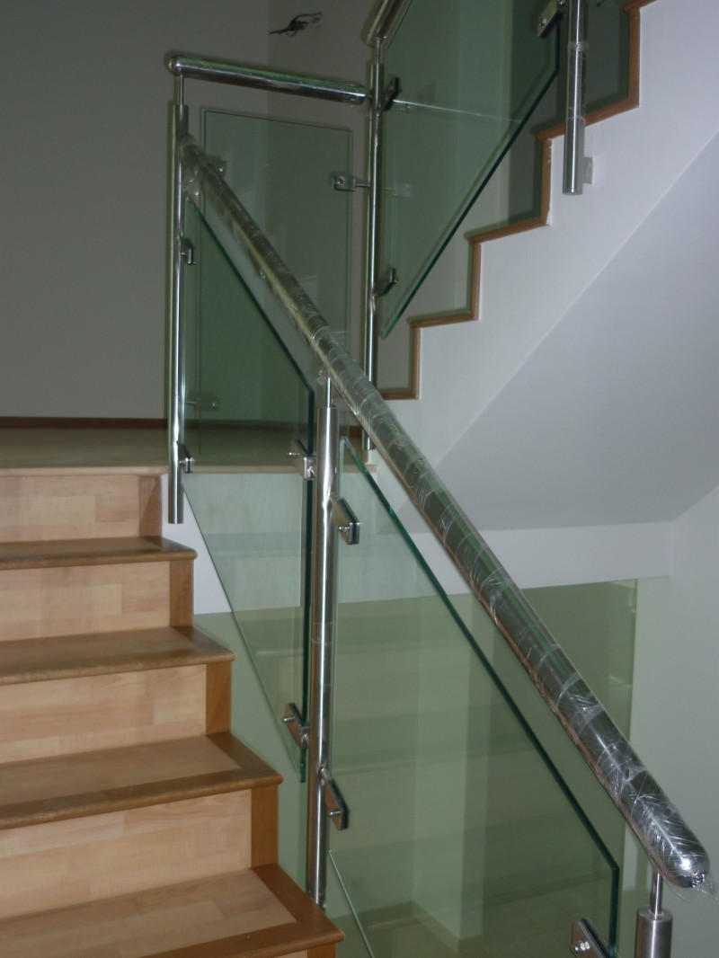 Stainless Steel Staircase Handrail - 01