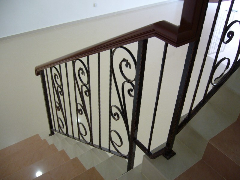 Wrought Iron Staircase Handrail - 03