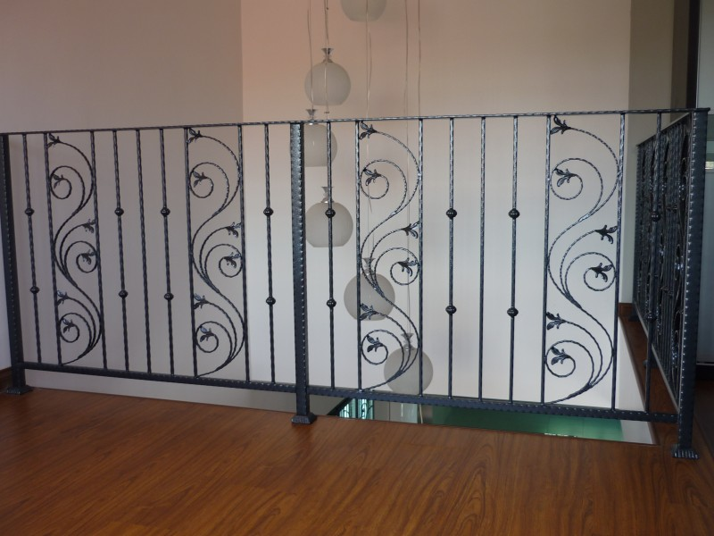 Wrought Iron Staircase Handrail - 01