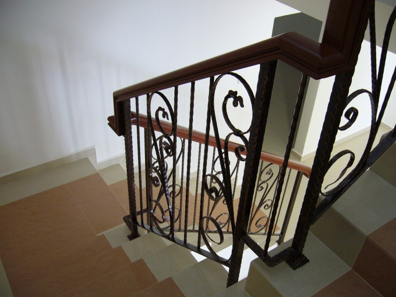 Wrought Iron Staircase Handrail - 05