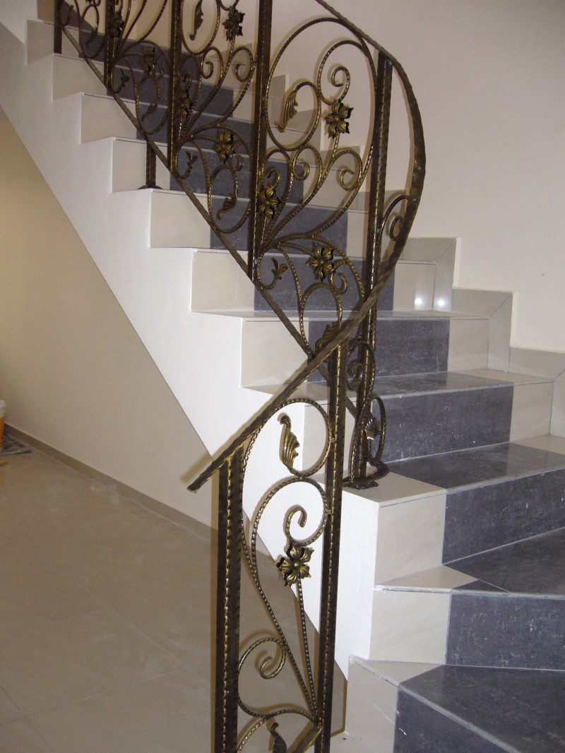 Wrought Iron Staircase Handrail - 02