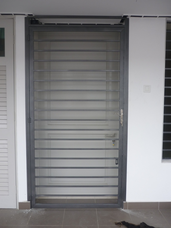 Mild Steel Main Door Grille - 03