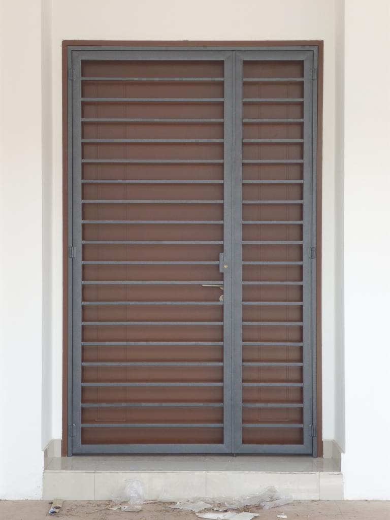 Mild Steel Main Door Grille - 04