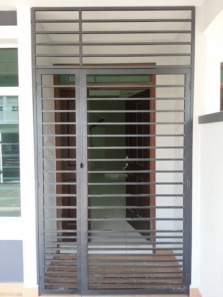 Mild Steel Main Door Grille - 07