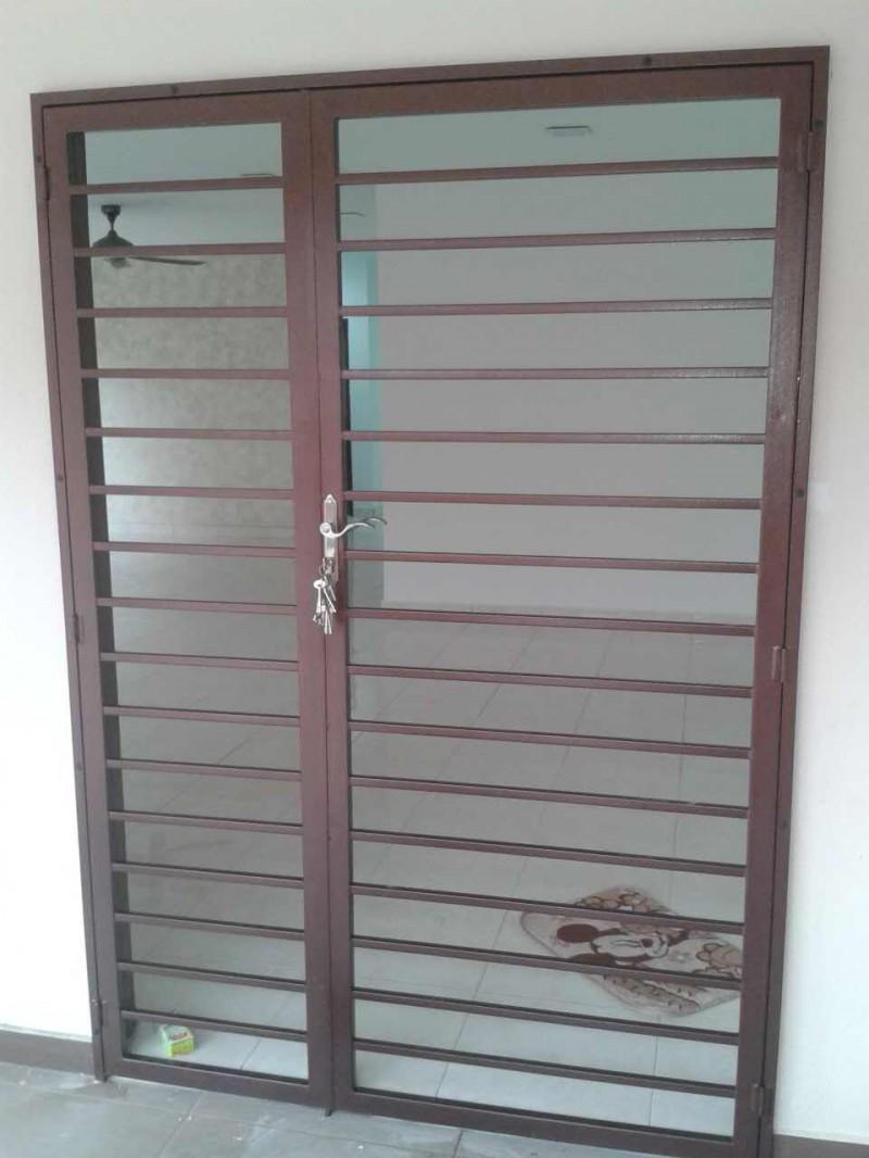 Mild Steel Main Door Grille - 06