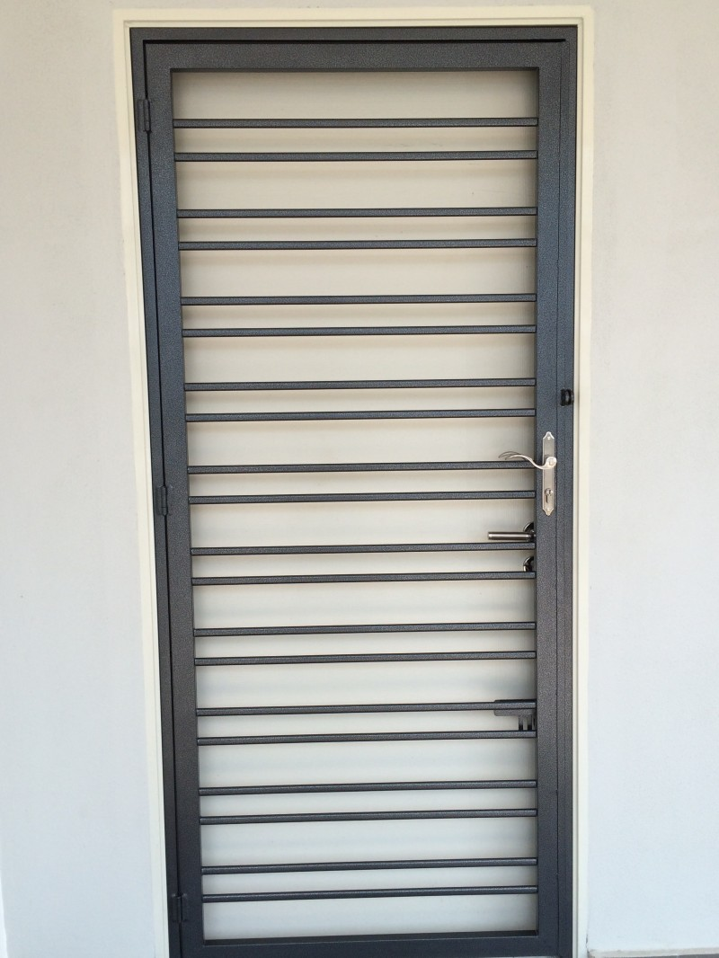 Mild Steel Main Door Grille - 08