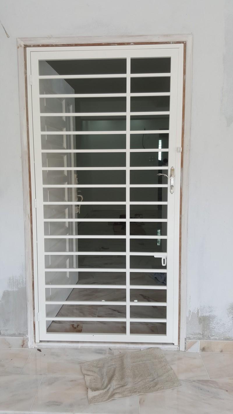 Mild Steel Main Door Grille - 01