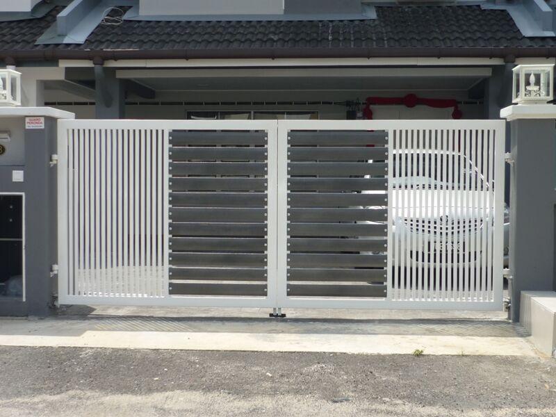Mild Steel Swing Gate - 04
