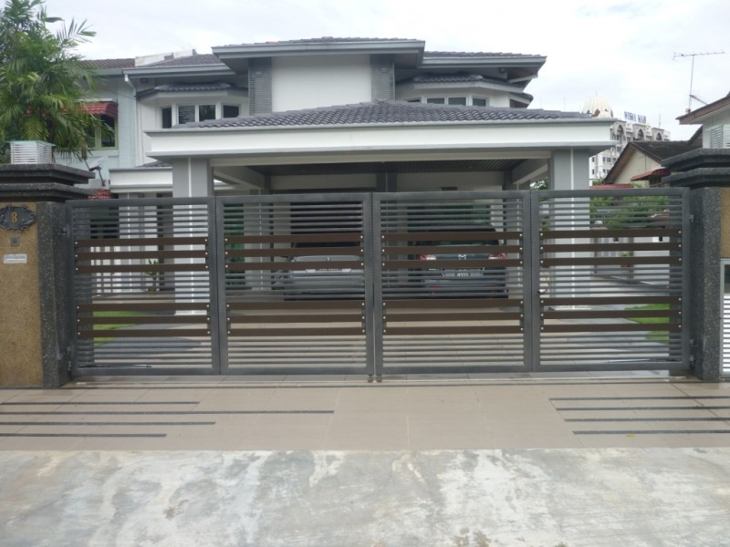 Mild Steel Folding Gate - 06
