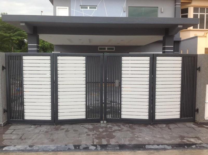 Mild Steel Folding Gate - 12