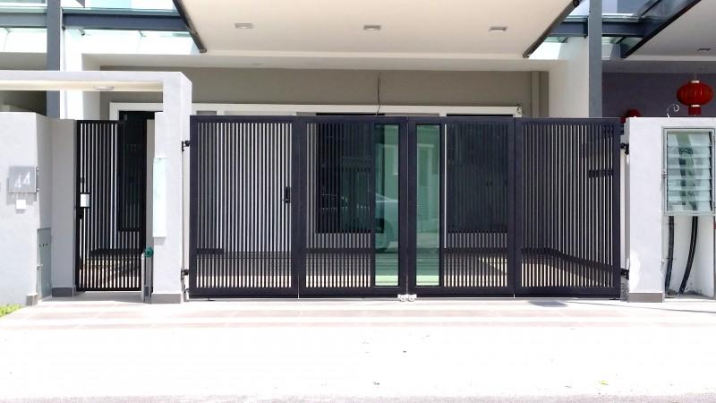 Mild Steel Folding Gate - 02
