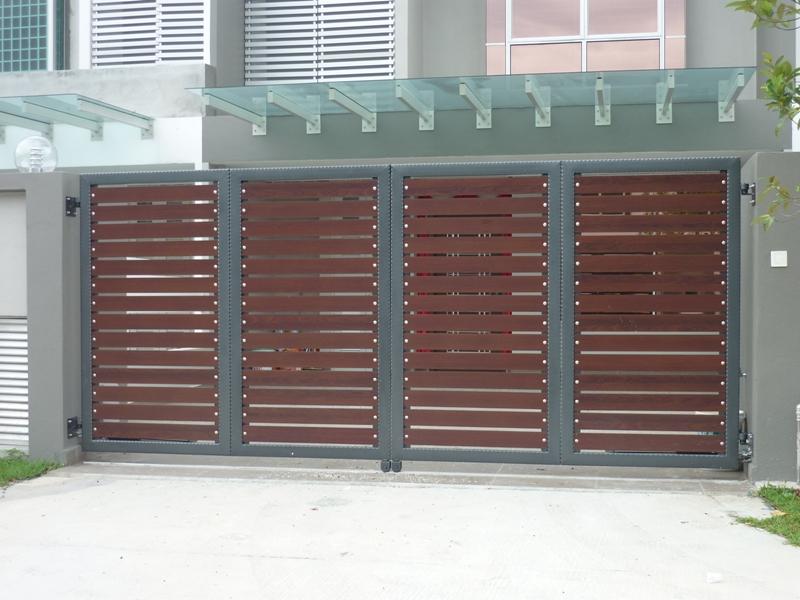 Mild Steel Folding Gate - 08