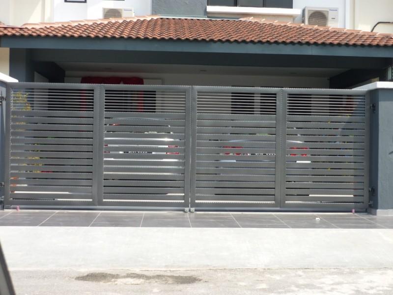 Mild Steel Folding Gate - 01