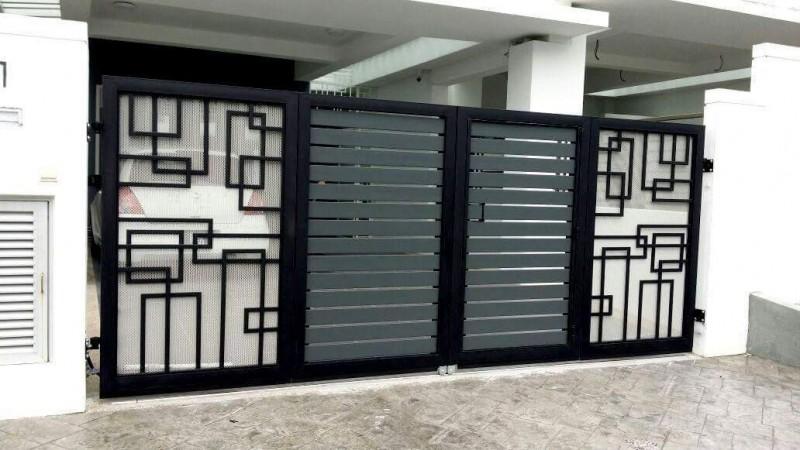 Mild Steel Folding Gate - 03