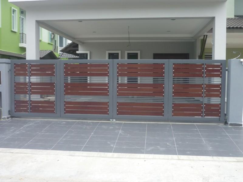 Mild Steel Folding Gate - 13