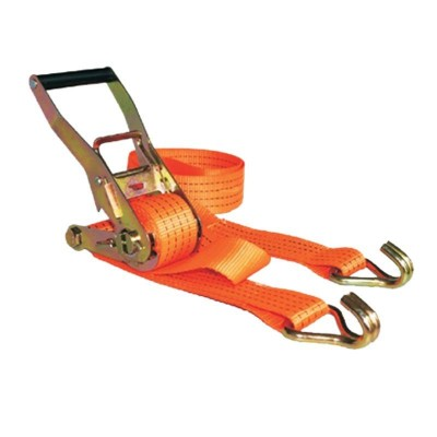 Ratchet Tie Down with Double-J Hooks