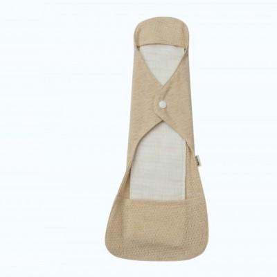 有机彩棉可水洗卫生巾 有防水层日用卫生巾280mm柔软透气 防过敏
