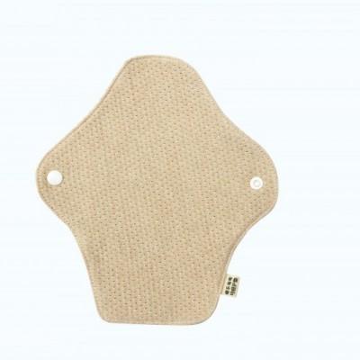 手工可水洗有机彩棉卫生巾无防水层生活护垫180mm 透气舒适抗过敏