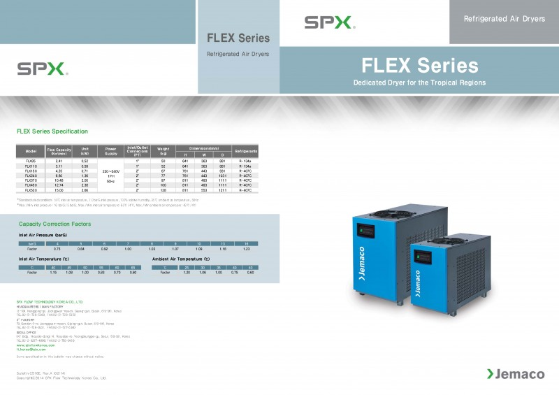 Refrigerant Air Dryers - FLEX Series