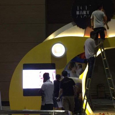 TCE Baby Expo LED Display @ Mid Valley Exhibition Hall