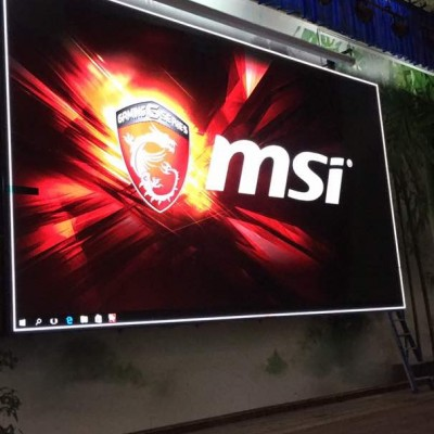 LED Display P5 10ft X 22ft @ SRJK (C) Taman Rashna