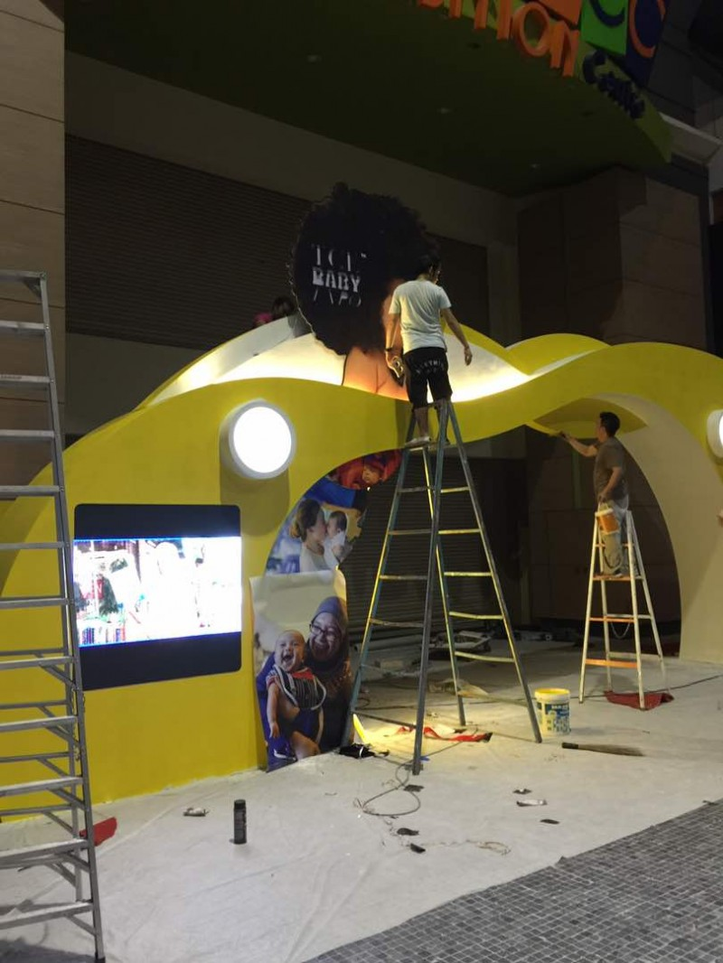 TCE Baby Expo LED Display